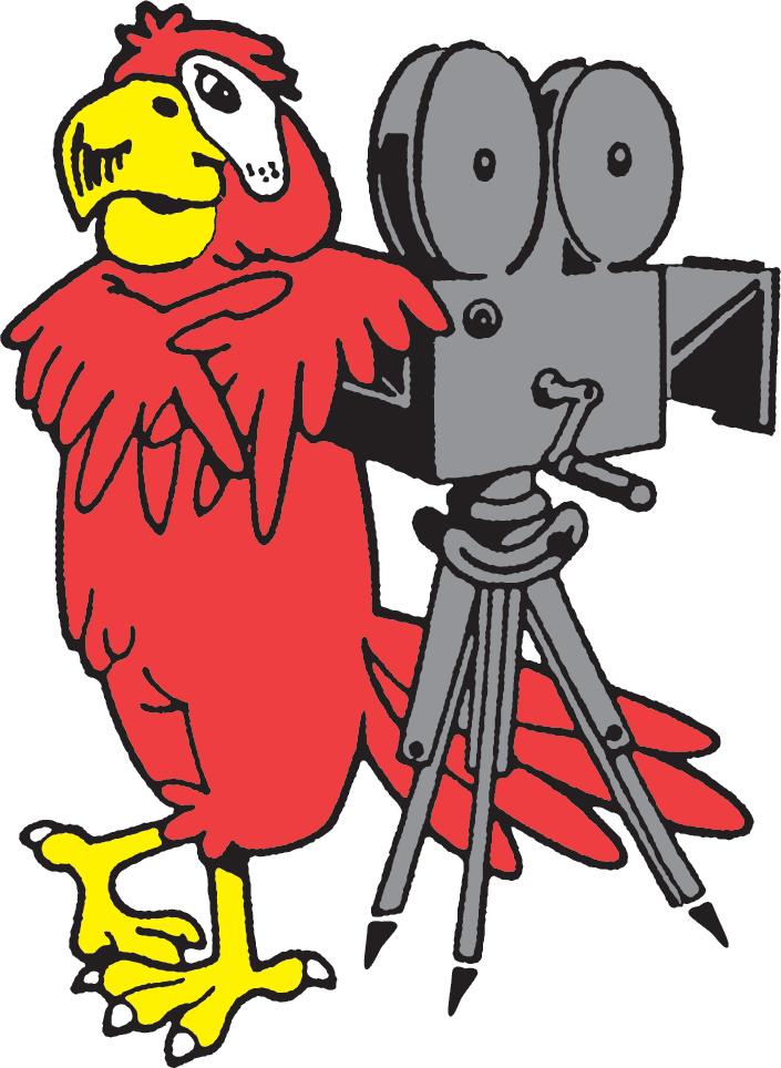 An original Parrot Film logo